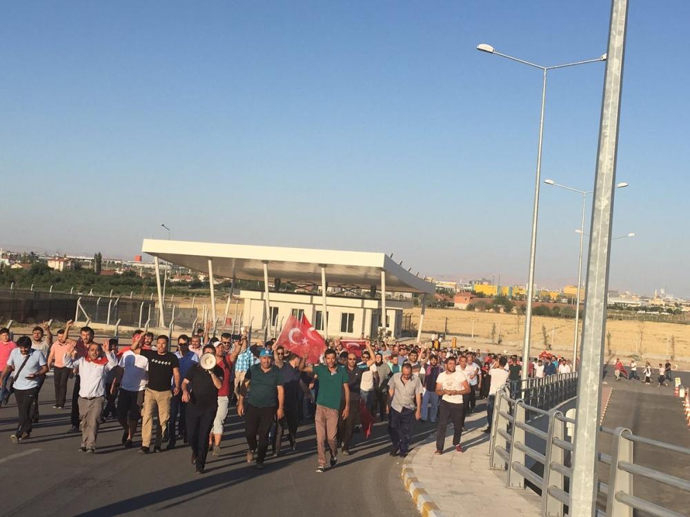 Konya'daki operasyona vatandaşlardan destek 4