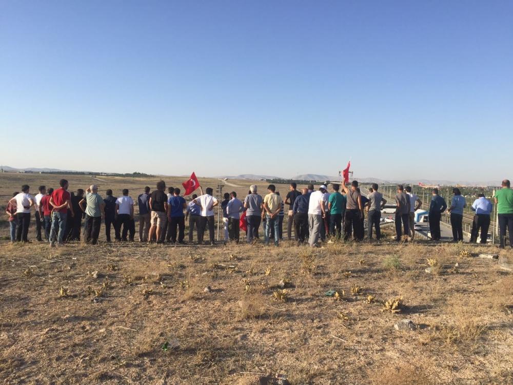 Konya'daki operasyona vatandaşlardan destek 9