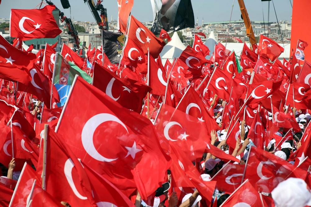 Yenikapı'daki tarihi mitingden kareler... 10