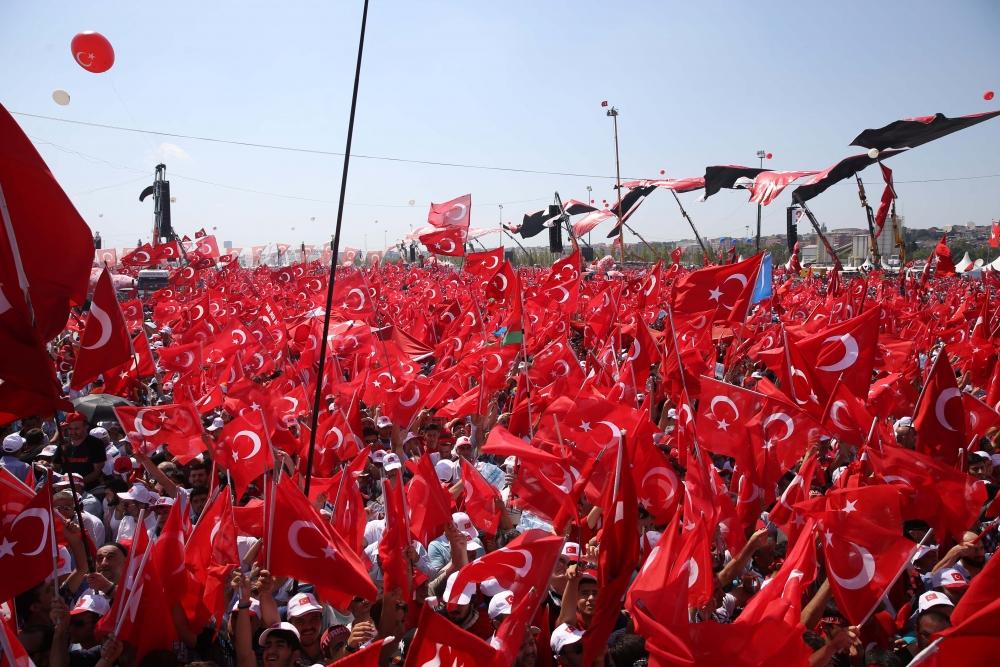 Yenikapı'daki tarihi mitingden kareler... 11