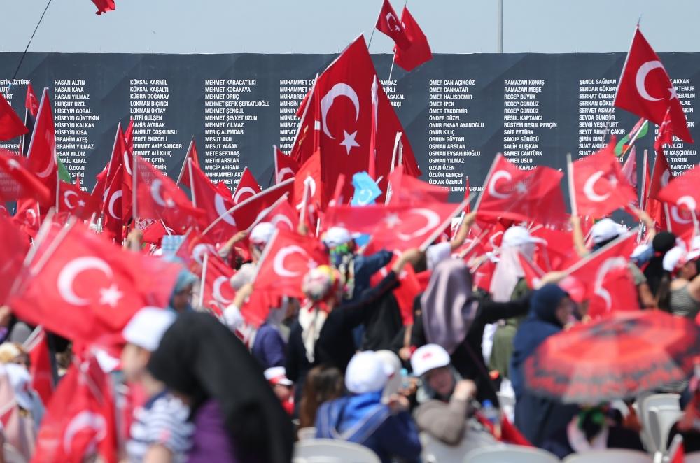 Yenikapı'daki tarihi mitingden kareler... 13