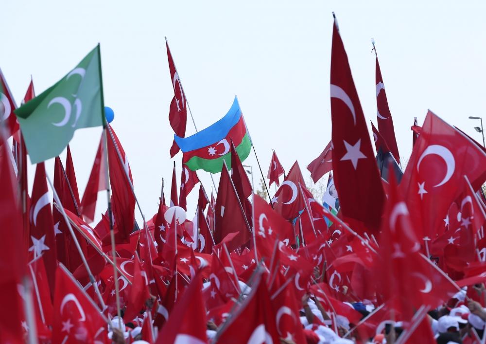 Yenikapı'daki tarihi mitingden kareler... 14