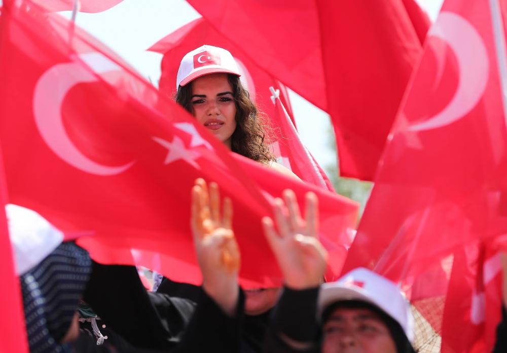 Yenikapı'daki tarihi mitingden kareler... 17