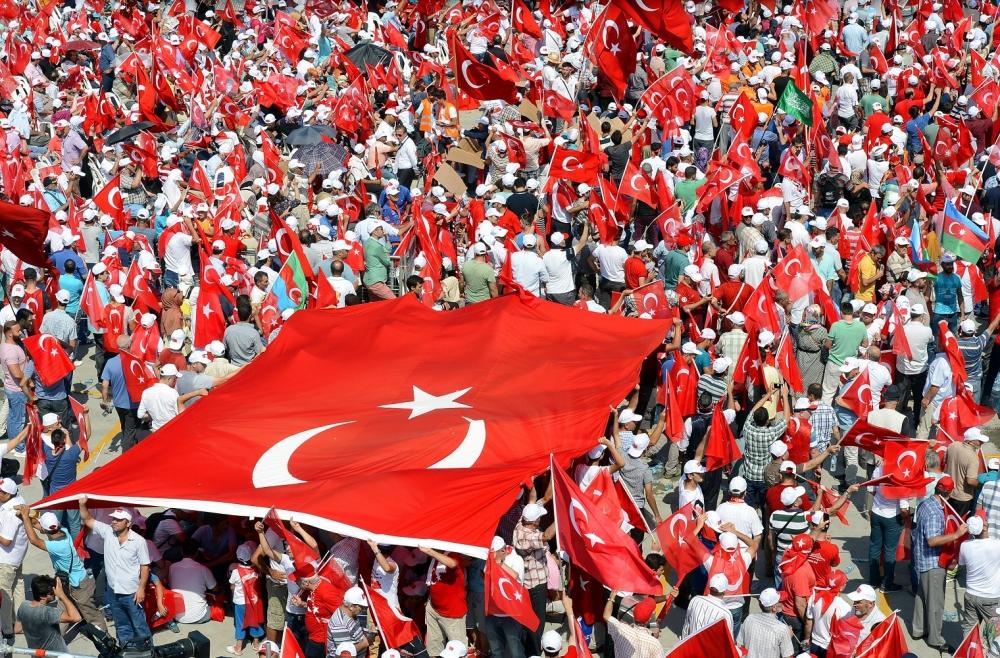 Yenikapı'daki tarihi mitingden kareler... 19