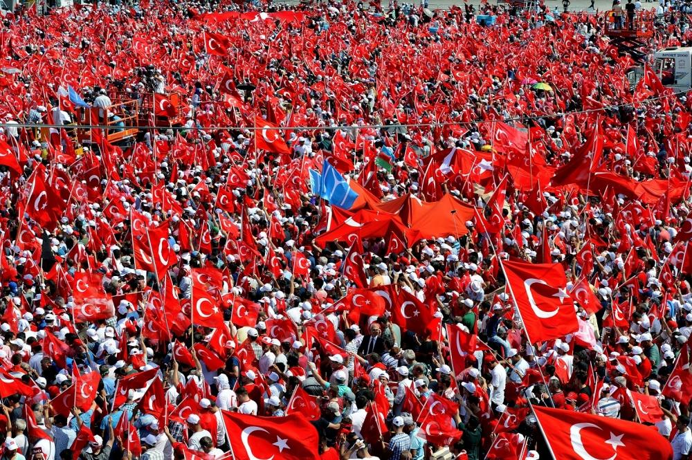 Yenikapı'daki tarihi mitingden kareler... 20