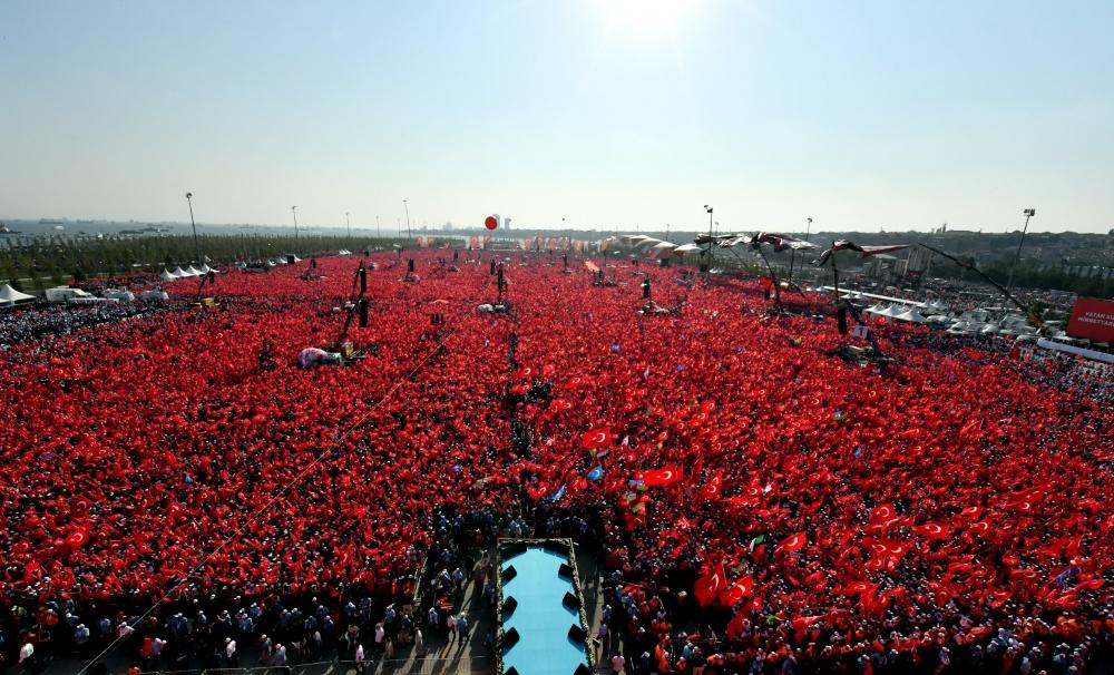 Yenikapı'daki tarihi mitingden kareler... 21