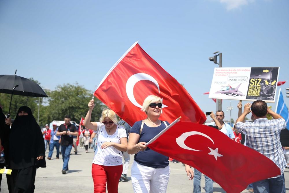 Yenikapı'daki tarihi mitingden kareler... 3