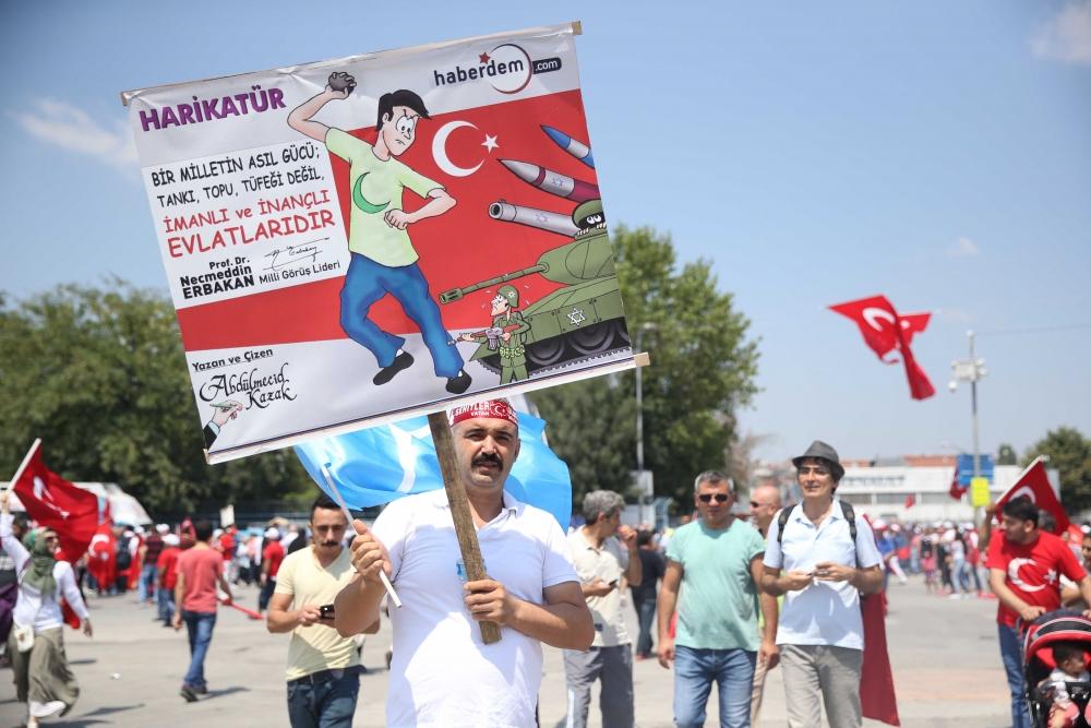 Yenikapı'daki tarihi mitingden kareler... 4