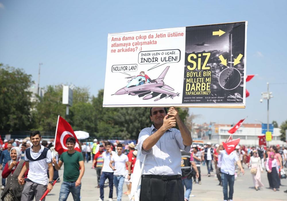 Yenikapı'daki tarihi mitingden kareler... 5