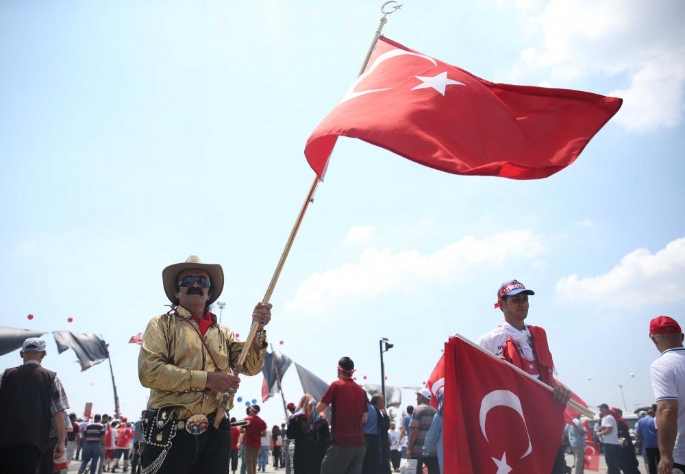 Yenikapı'daki tarihi mitingden kareler... 6