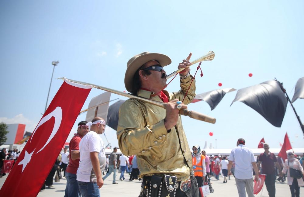 Yenikapı'daki tarihi mitingden kareler... 7
