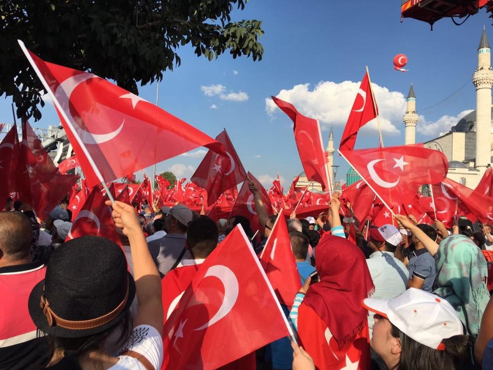 Yenikapı coşkusu Konya'ya yayıldı 1