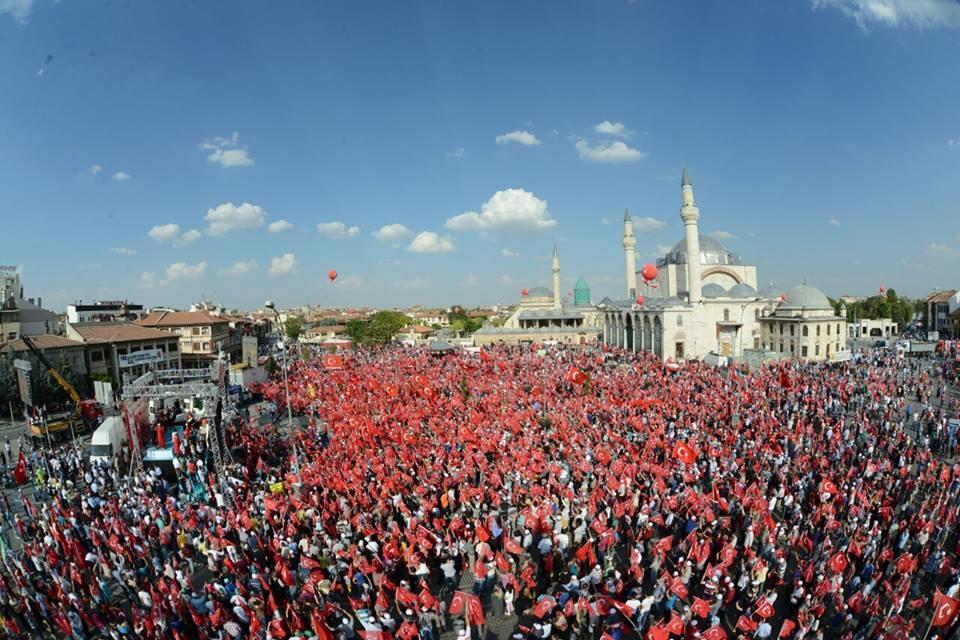 Yenikapı coşkusu Konya'ya yayıldı 10
