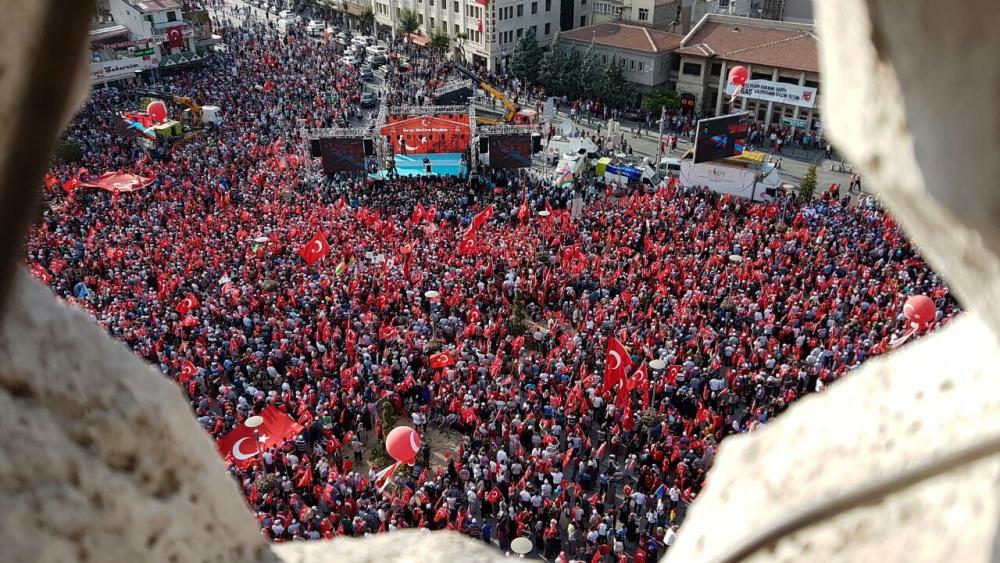 Yenikapı coşkusu Konya'ya yayıldı 11