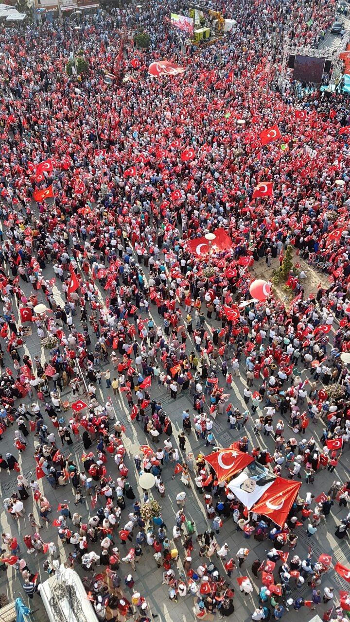 Yenikapı coşkusu Konya'ya yayıldı 12