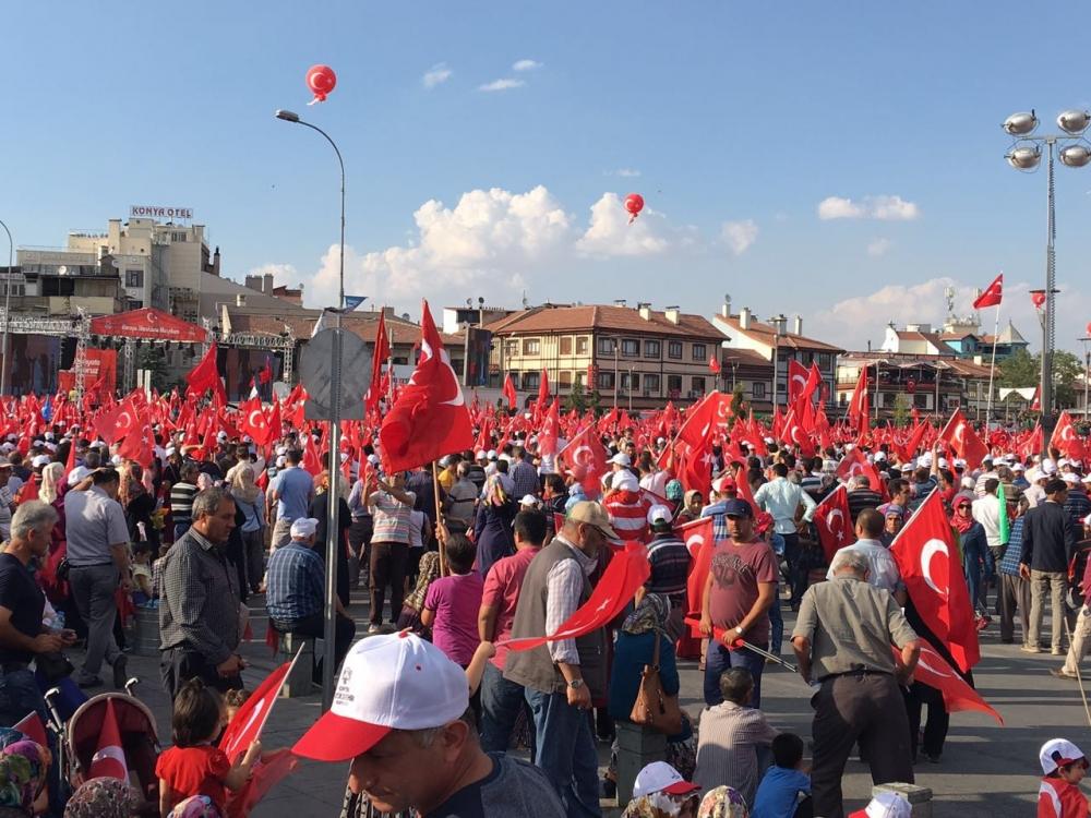 Yenikapı coşkusu Konya'ya yayıldı 2