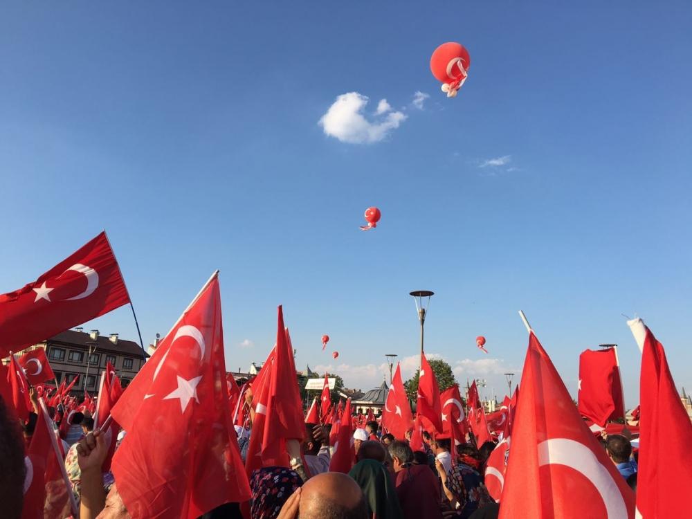Yenikapı coşkusu Konya'ya yayıldı 4