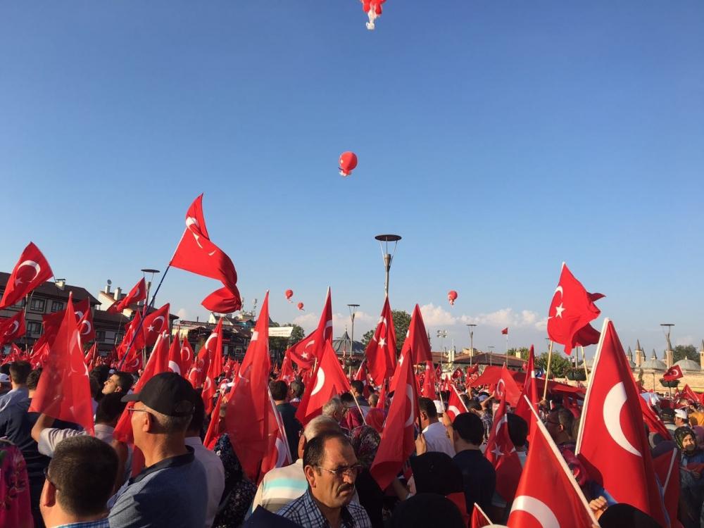 Yenikapı coşkusu Konya'ya yayıldı 6