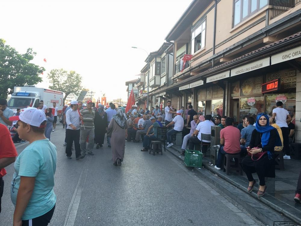 Yenikapı coşkusu Konya'ya yayıldı 8