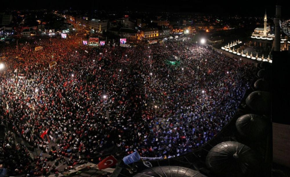 Konya'da nöbet sürüyor 2