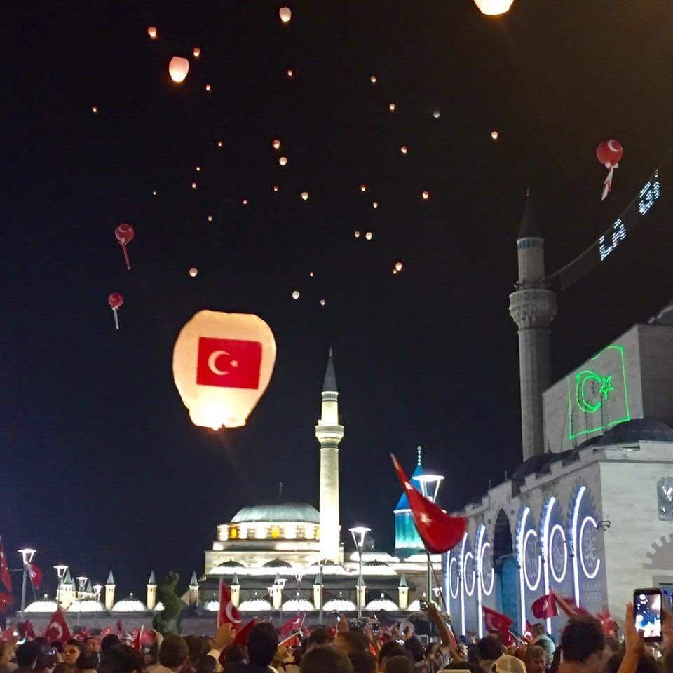 Konya'da nöbet sürüyor 3