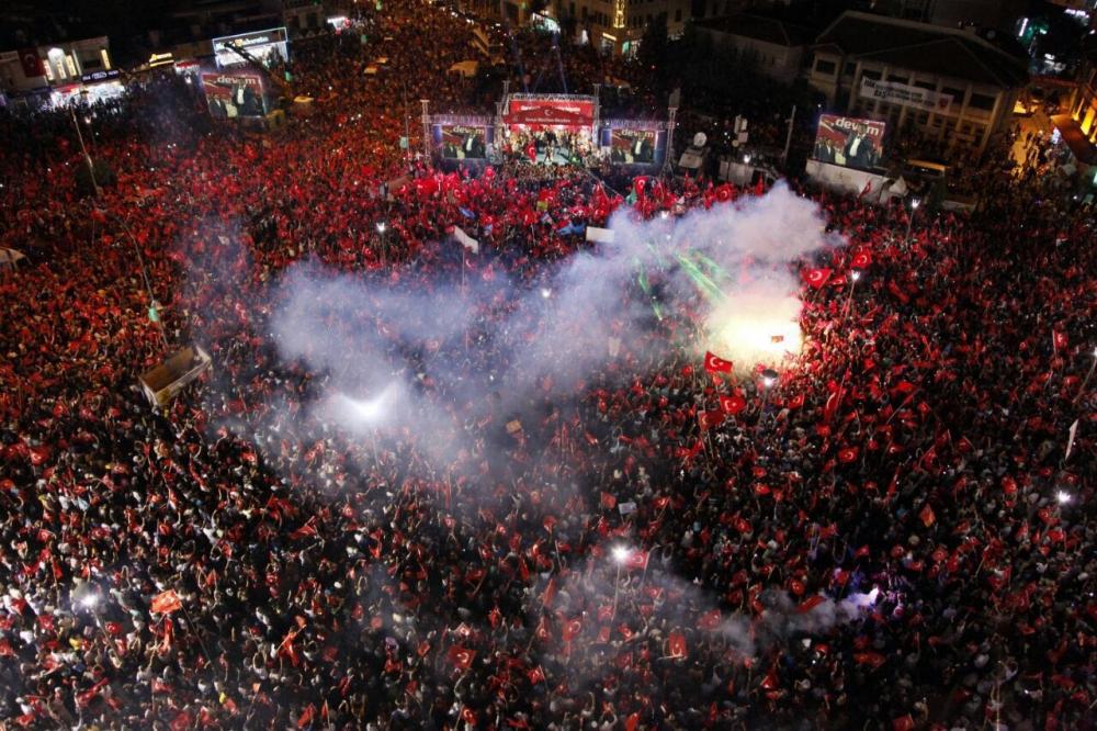 Konya'da nöbet sürüyor 4