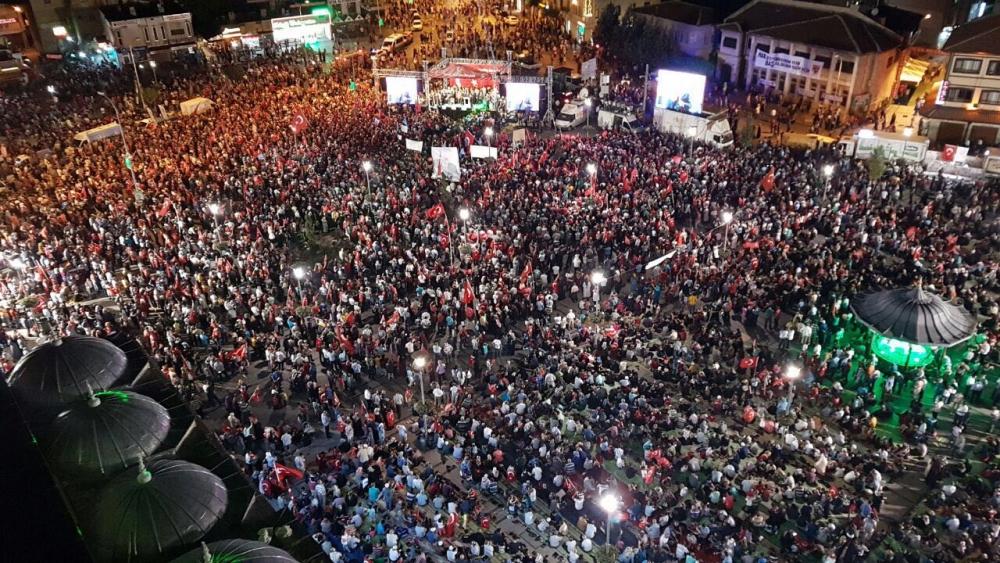 Konya'da nöbet sürüyor 5
