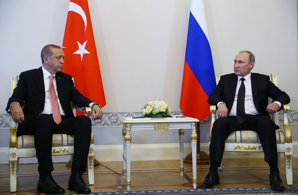 Erdoğan ile Putin görüşmesinden fotoğraflar 2