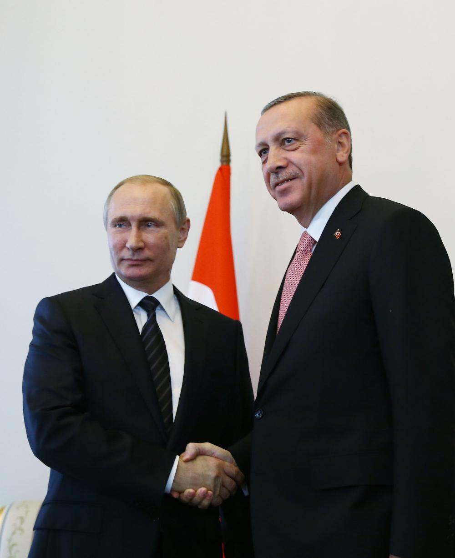 Erdoğan ile Putin görüşmesinden fotoğraflar 3