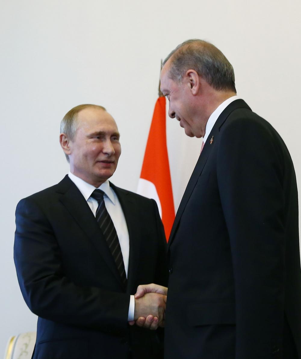 Erdoğan ile Putin görüşmesinden fotoğraflar 4