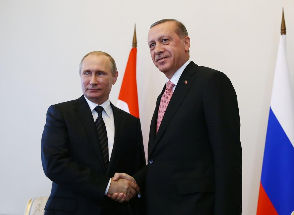 Erdoğan ile Putin görüşmesinden fotoğraflar 5