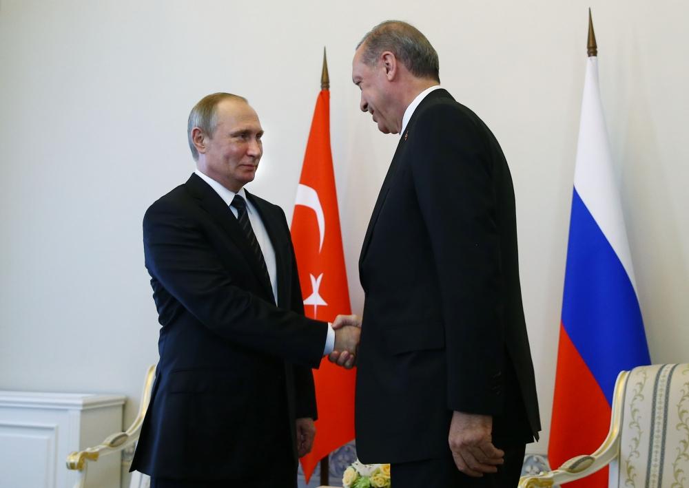 Erdoğan ile Putin görüşmesinden fotoğraflar 6