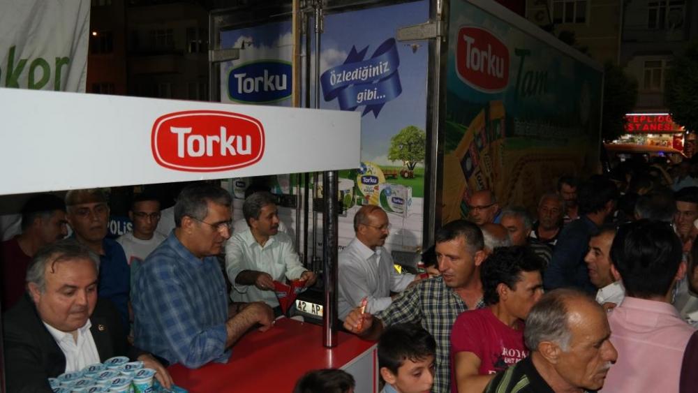 Torku, demokrasi için meydandaydı 9