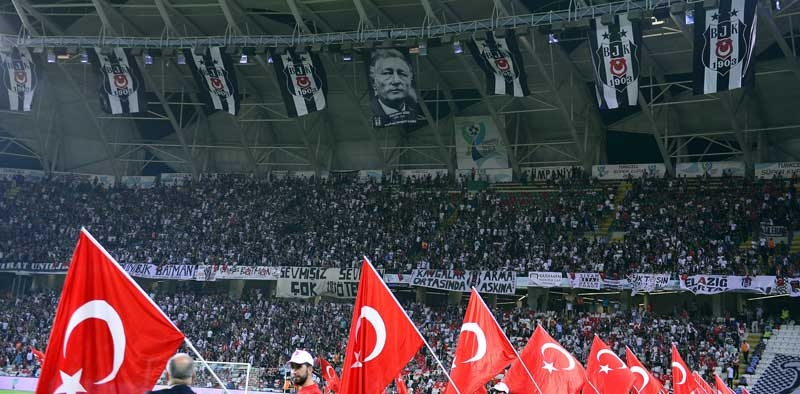 Galatasaray Konya'da Beşiktaş'ı devirdi, kupayı kazandı 1