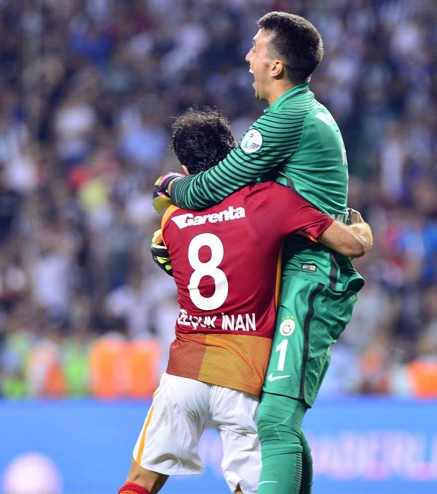 Galatasaray Konya'da Beşiktaş'ı devirdi, kupayı kazandı 13