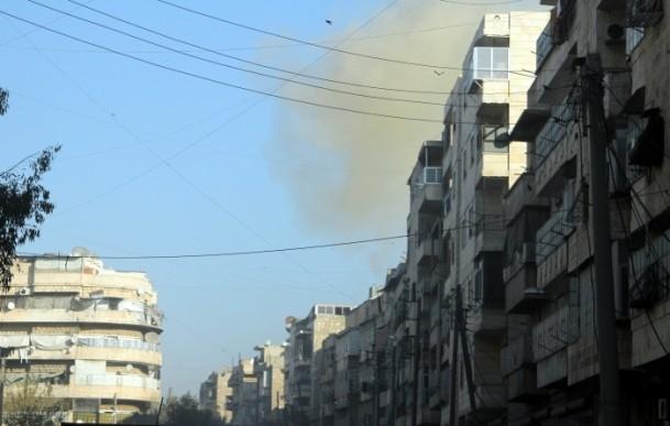 """Halep'e """"varil bombalı"""" saldırılar 5"""