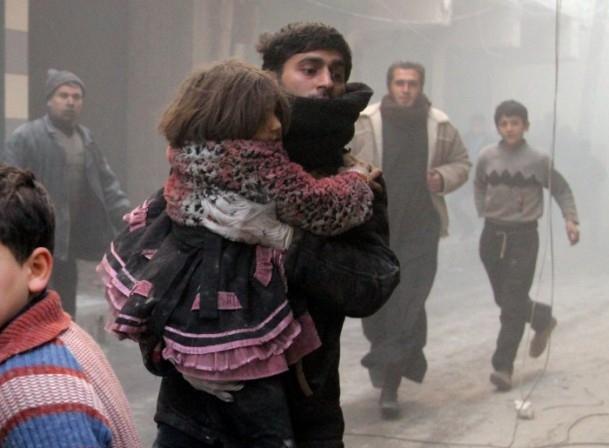 """Halep'e """"varil bombalı"""" saldırılar 9"""