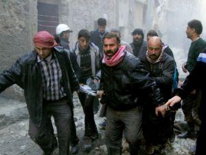 """Halep'e """"varil bombalı"""" saldırılar"""