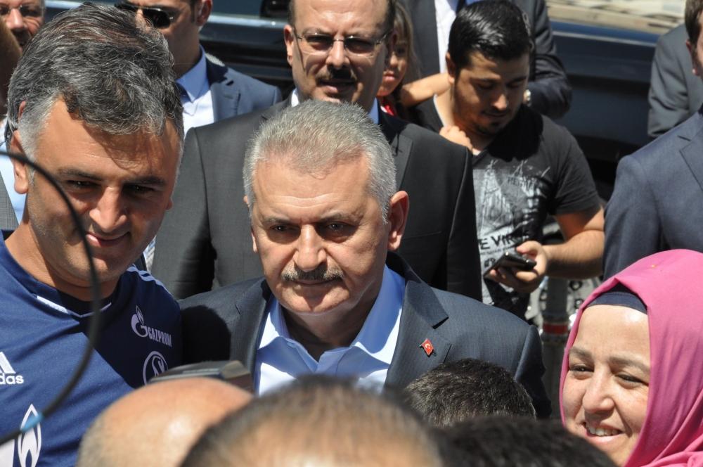 Başbakan Binali Yıldırım,Mevlana Müzesi'ni ziyaret etti 10