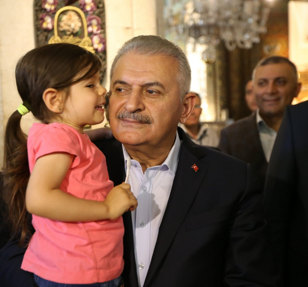 Başbakan Binali Yıldırım,Mevlana Müzesi'ni ziyaret etti 12
