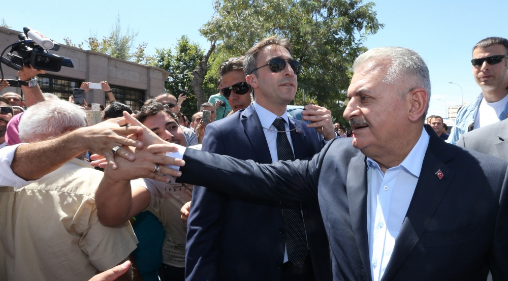 Başbakan Binali Yıldırım,Mevlana Müzesi'ni ziyaret etti 15