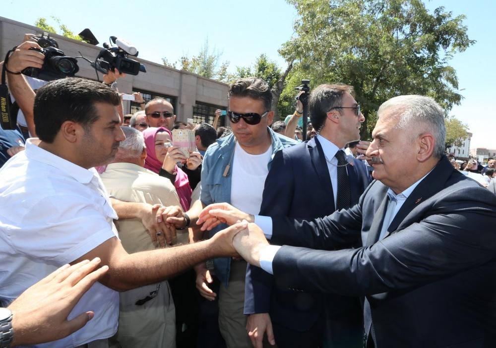 Başbakan Binali Yıldırım,Mevlana Müzesi'ni ziyaret etti 16
