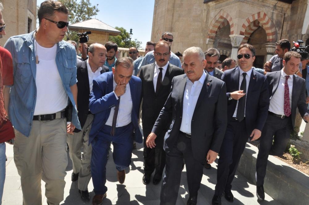 Başbakan Binali Yıldırım,Mevlana Müzesi'ni ziyaret etti 2