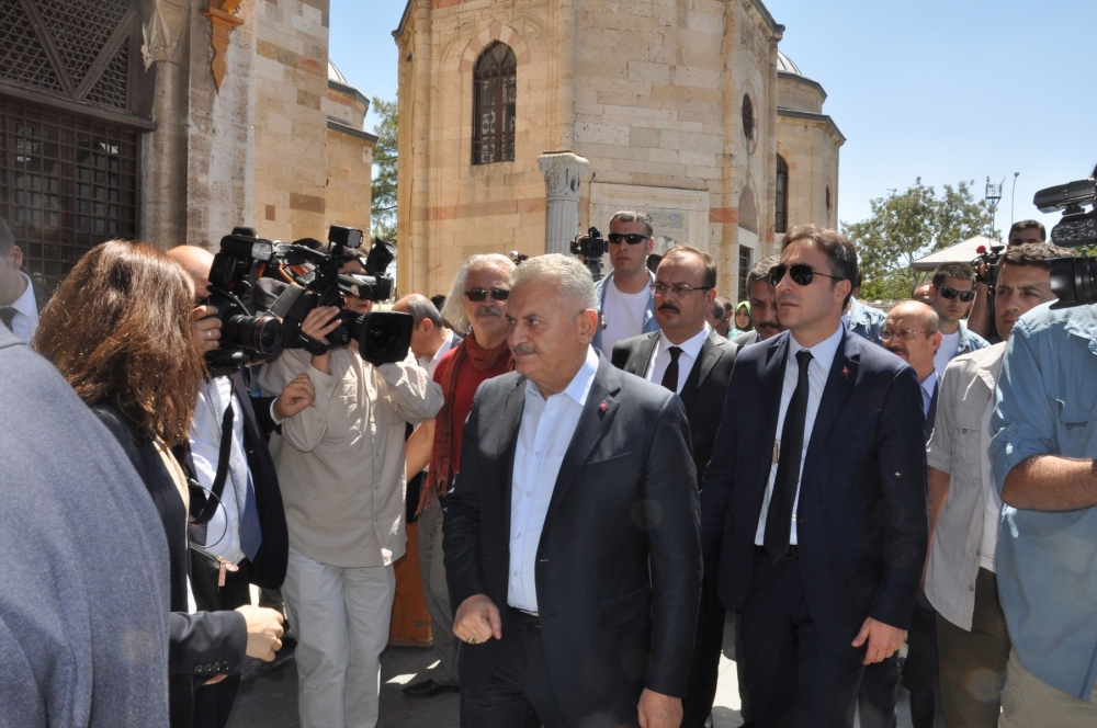Başbakan Binali Yıldırım,Mevlana Müzesi'ni ziyaret etti 3