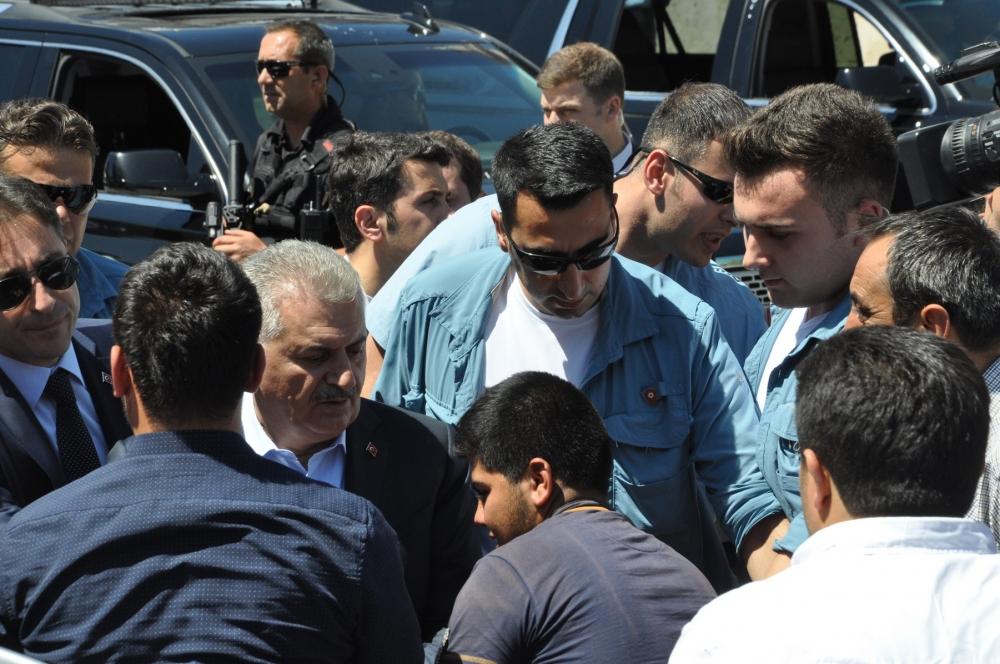 Başbakan Binali Yıldırım,Mevlana Müzesi'ni ziyaret etti 6