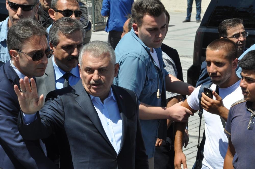 Başbakan Binali Yıldırım,Mevlana Müzesi'ni ziyaret etti 7