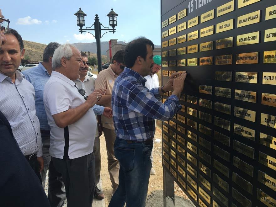 MÜSİAD Konya milli irade şehitlerinin adını yaşatıyor 16