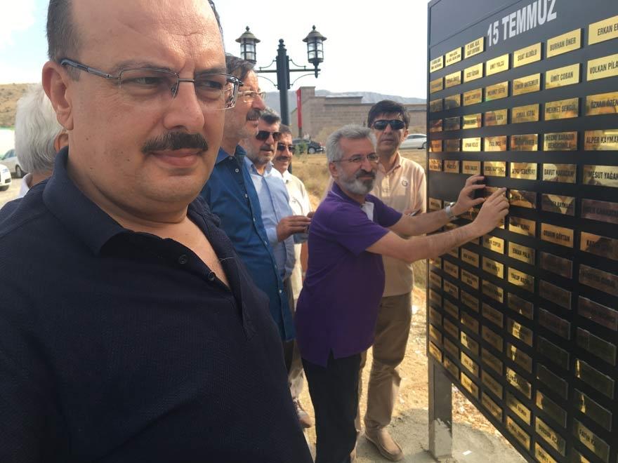 MÜSİAD Konya milli irade şehitlerinin adını yaşatıyor 19