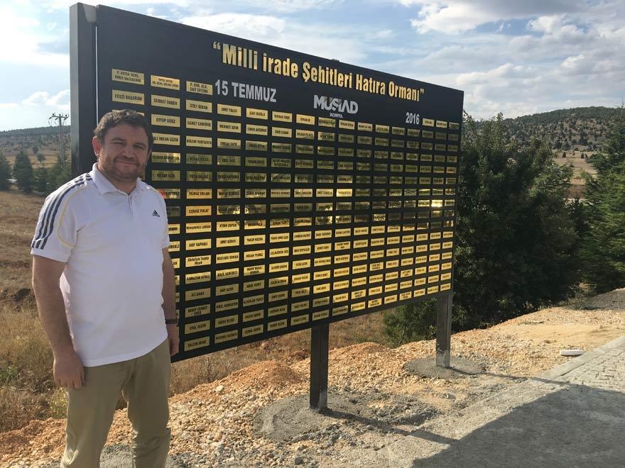 MÜSİAD Konya milli irade şehitlerinin adını yaşatıyor 24