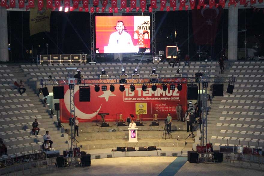 Konya'da 'Milli İrade Dayanışma Gecesi' düzenlendi 10